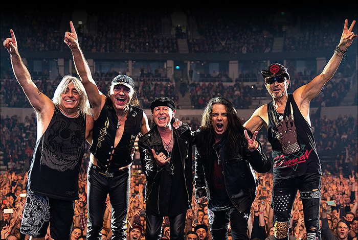Scorpions Rock Believer World Tour 2022